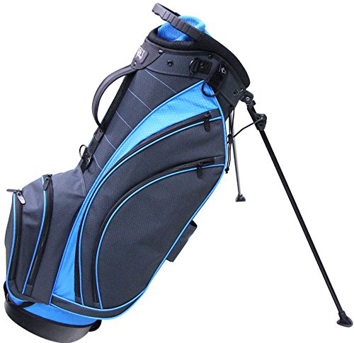 rj-sports-sb-495-stand-bag-9-charcoal-true-blue