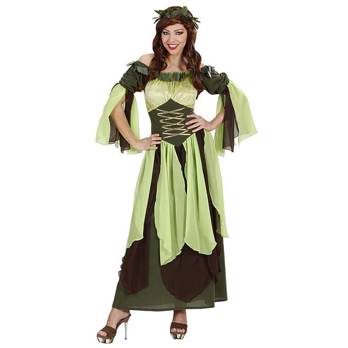 Traje de Cuento de Hadas hasta Las Rodillas elfa / Verde ...