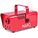 MARQ Fog 400 LED 400W Water-Based Special Effects Fog Machine, Red