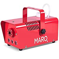 MARQ Fog 400 LED red 400W Water-Based Special Effects Fog Machine with Red-Color LED Lights (Red)