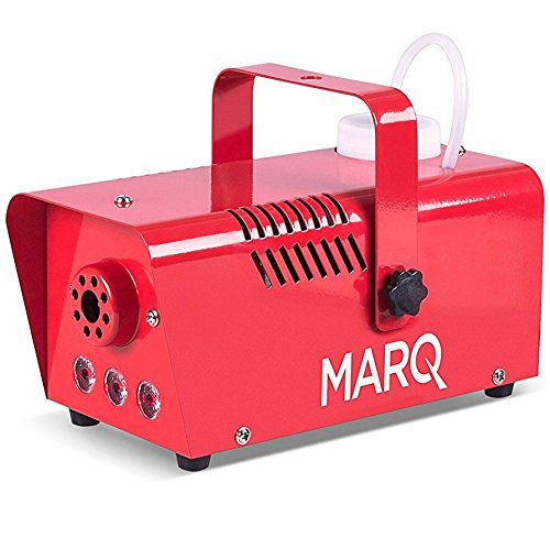 MARQ Fog 400 LED | 400W Water-Based Special Effects Fog Machine with Red-Color LED Lights (Red) by MARQ (Image #5)