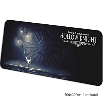 WZRYJDQS Alfombrilla De Ratón Hollow Knight Gaming 70X30Cm Grande ...