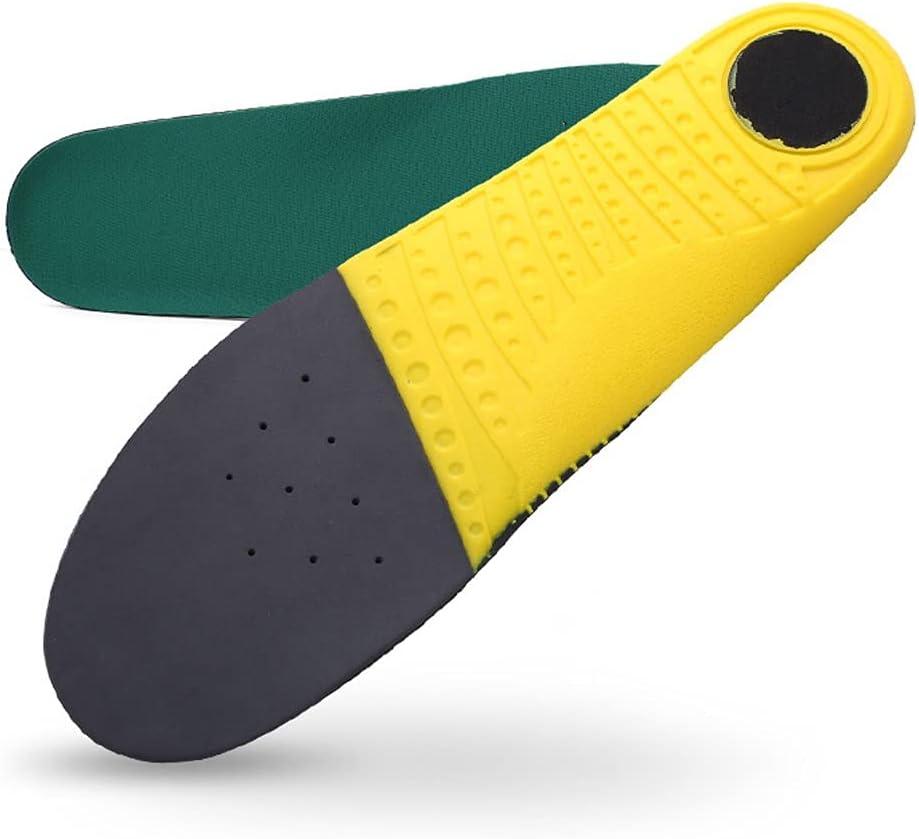 SKROWHN Plantillas para Zapatos Absorción de choques Plantillas de Zapatos Ortopedic Peso Ligero Transpirable para Hombres Mujeres (Size : 305mm EU 44 to 45)