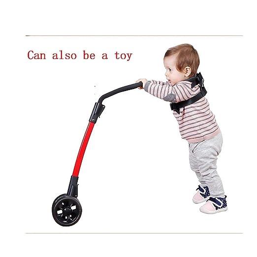 PCBHB Bebé Andador Arriba y Abajo Ajustable Asistente para Caminar ...