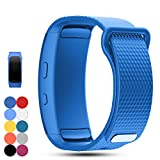 Samsung Gear Fit 2 Pro Fit 2 SM-R360 Replacement Watch Band Strap - Feskio Accessory Soft Silicone Wristband Strap Sport Band Bracelet for Samsung Gear Fit 2 Pro SM-R360 Smartwatch