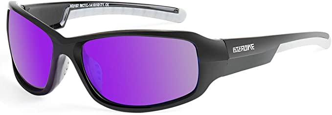 Polarized Sports Sunglasses for Women Men Tennis Cycling Driving Glasses, UV400 Protection