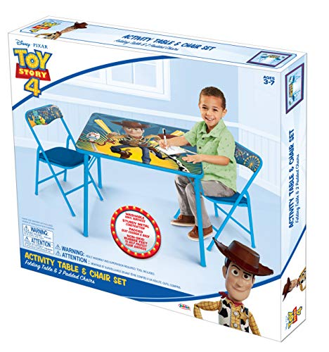 51j%2BrLKMOUL - Jakks Pacific Toy Story Activity Table Set with Two Chairs