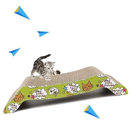 Amazon com: XBSD Et Cat Scratch Board Pad with Catnip Cat
