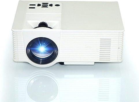 WHLDCD Proyector Mini proyector portátil 1500 lúmenes 800 X 480 ...