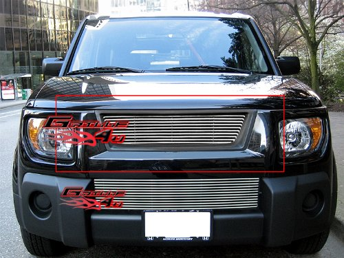 APS Compatible with 2003-2006 Honda Element Billet Grille Insert S18-A10178H