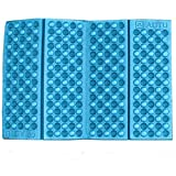 Oksale Protable Outdoor Foldable Foam Seat Pad Waterproof Chair Cushion Camping Garden (Blue)