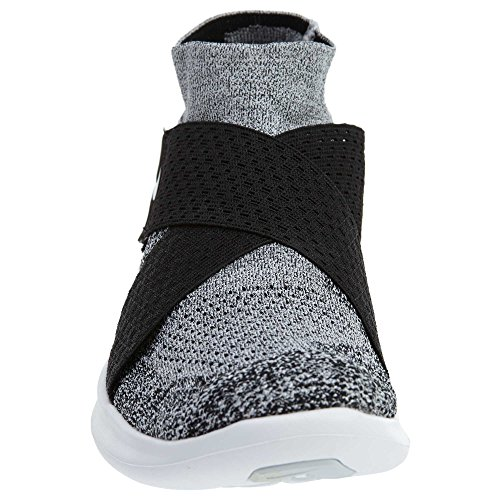 get to buy online 2015 sale online Nike Men's Free Rn Motion Fk 2017 Training Shoes Black White Pure Platinum 001 collections cheap price sale shopping online p23gpaSK