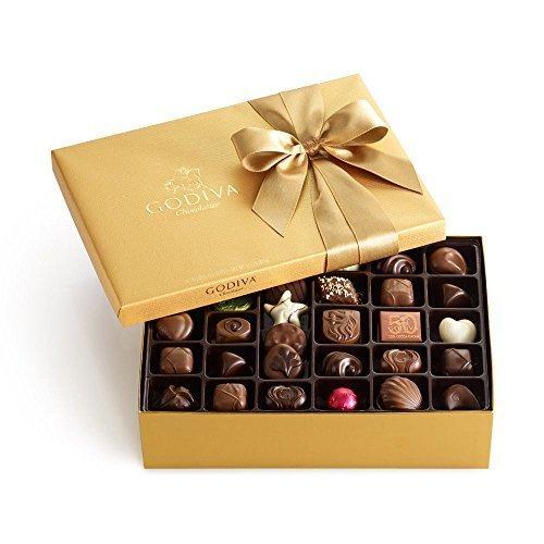 GODIVA Chocolatier 70 pc. Gold Gift Box - Classic by GODIVA Chocolatier by GODIVA Chocolatier