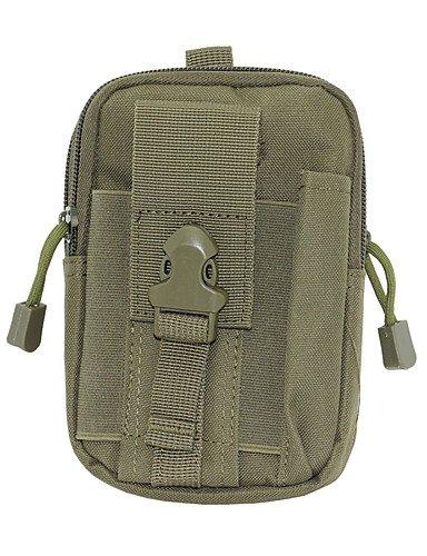 ZXC/Outdoor multifunktionale wasserdicht Taille Tasche–Armee Grün