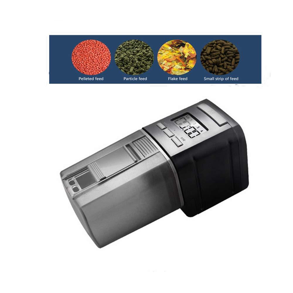Automatic Fish Feederautomatic Intelligent Timing Feeding Device Mini Feeding Machine Aquarium Feeding Device