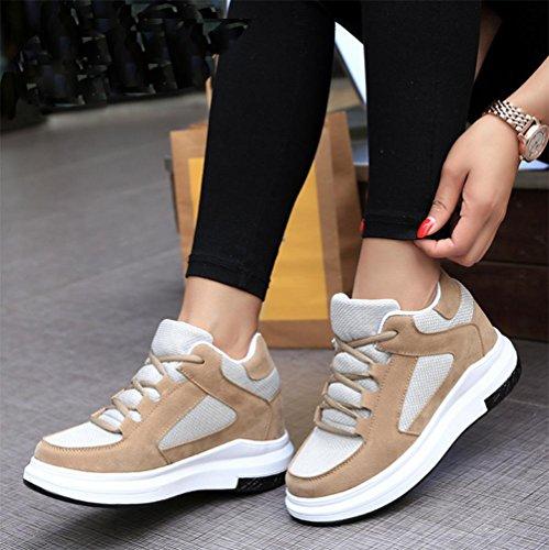Ms Spring ascensor zapatos zapatos casuales deportivos para ayudar a los solteros zapatos bajos de las mujeres , US7.5 / EU38 / UK5.5 / CN38