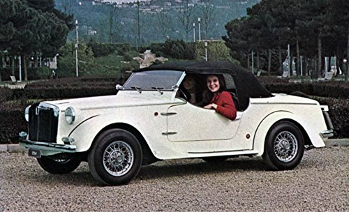 1968 Fiat 850 Siata Spring Spider Factory Photo