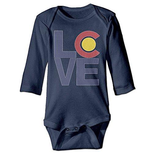 Love Colorado Baby Boys Girls Long-sleeve - Springs Colorado Malls Shopping