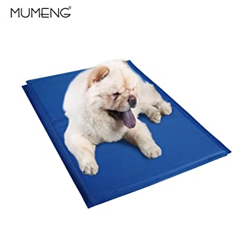 Alfombrilla de Refrigeración Estera de Enfriamiento para Perros y Gatos - Cojín de Enfriamiento para Mascotas