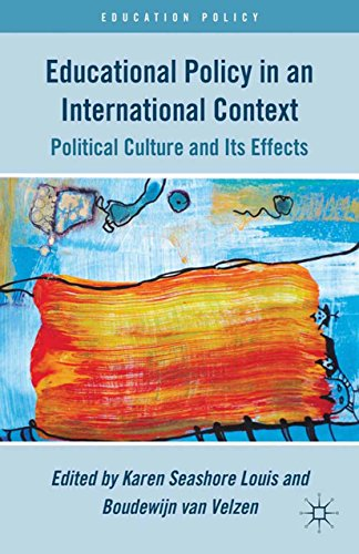 Download Educational Policy in an International Context: Political Culture and Its Effects (Education Policy) Pdf