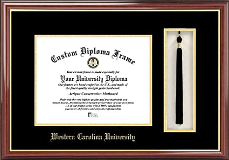 Western Carolina Universitytassel Box And Diploma Frame Amazon Ca Home Kitchen