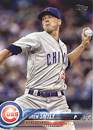 2018 Topps Heritage Drew Smyly Chicago Cubs High Number Sp #455 Sports Trading Cards