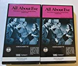 All About Eve [Magnetic Video] [2-Tape Set]