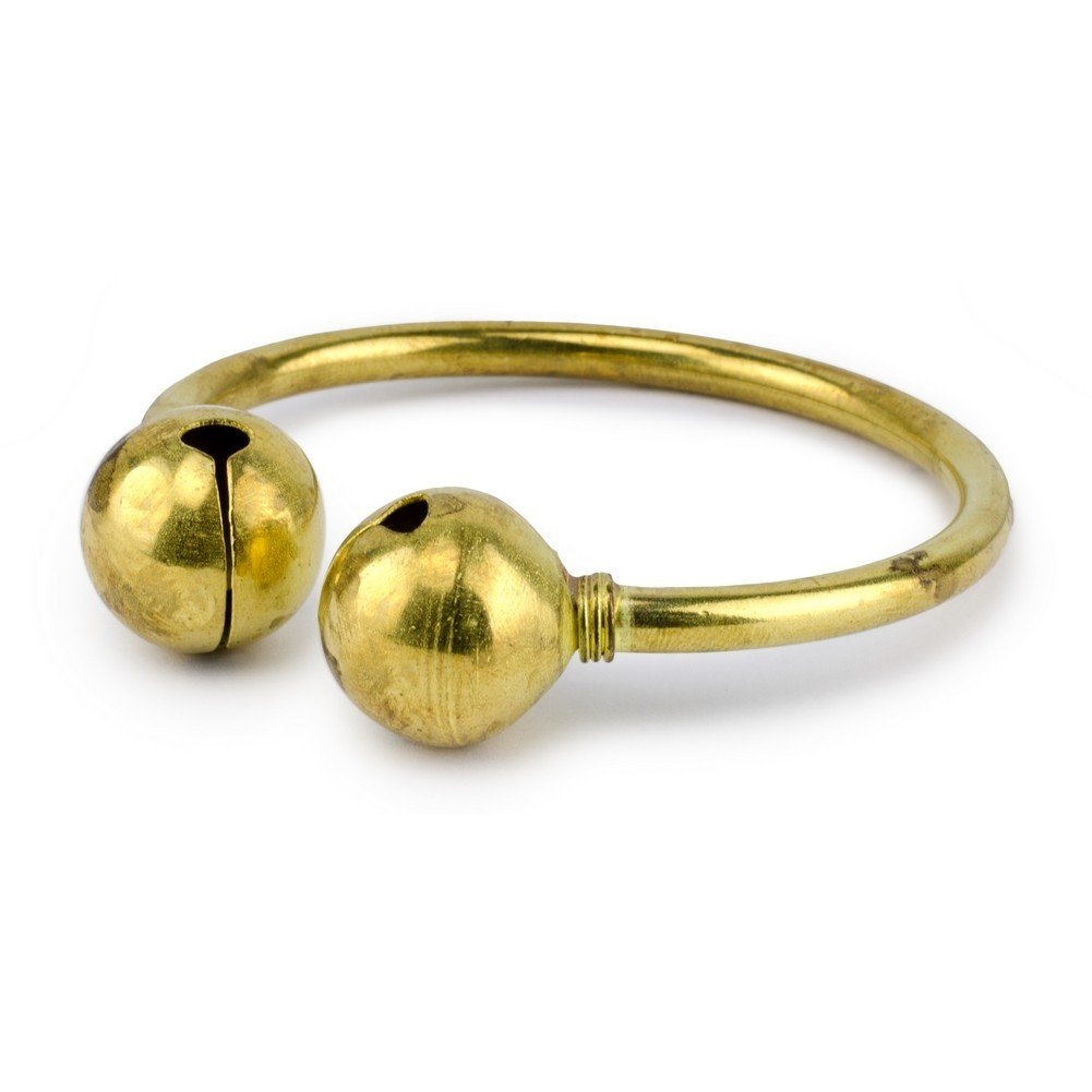 Joe Cool Bangle Double Bell Made with Brass