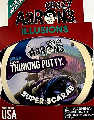 MEGA Super Scarab Illusion Crazy Aaron's Thinking Putty 1 Pound (LB) of Putty, by Crazy Aaron's Thinking Putty (Image #3)