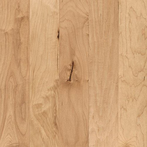 Armstrong ESP5240LG Performance Plus Low Gloss Engineered Wide Plank Maple Hardwood Flooring, 3/8