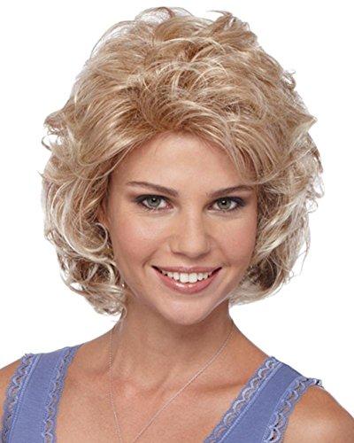 Synthetic Carmel Kiss Compliment Women Wig by Estetica Designs