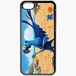 diy phone casePersonalized iphone 4/4s Cell phone Case/Cover Skin Cartoon Rio Rio De Janeiro Bird Parrot Blue Macaw Blackdiy phone case