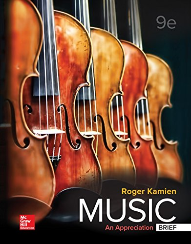 Pdf eBooks Music: An Appreciation, Brief Edition