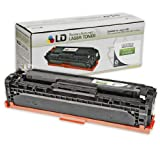 LD Remanufactured Replacement Laser Toner Cartridge for Hewlett Packard CE320A (HP 128A) Black for use in the Color LaserJet CM1415fnw, CP1525wn & CP1525nw Printers