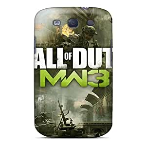 Protective Hard Phone Cover For Samsung Galaxy S3 (UIJ25641owGE) Support Personal Customs Attractive Mw3 Series