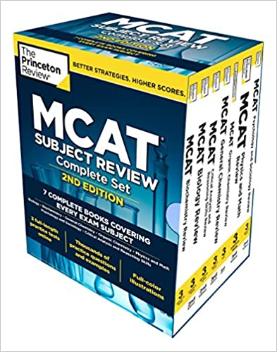 Princeton Review MCAT Subject Review Complete Box Set, 2nd