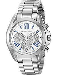Michael Kors Women's Bradshaw Silver-Tone Watch MK6320