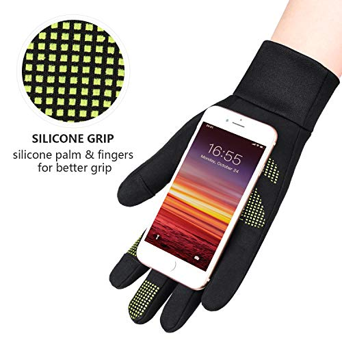 Winter Gloves for Men and Women Touchscreen Water Resistant Windproof Anti-Slip Thermal for Driving Hiking Bike Cycling Running