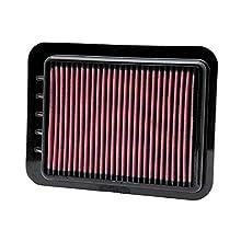 K&N 33-2980 Filtro de Aire Coche, Lavable y Reutilizable