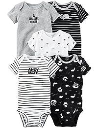 Carter's Baby Boys' 5 Pack Bodysuits (Baby) - Asst-Boys 2