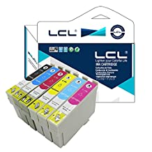 LCL Compatible for Epson 79 T0791 T0792 T0793 T0794 T0795 T0796 (6-Pack Black Cyan Magenta Yellow LightCyan LightMagentaent) Ink Cartridge for Epson Stylus Photo 1400/1500W??P50