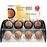 4pc Jcat Golden Soleil Baked Bronzer Compact set of 4 color #GBB101-104