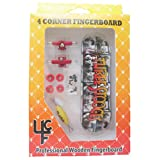 """The Three Stooges ® Complete Fingerboard with Real Wear Graphic """"TTS Film Cells B&W"""""""