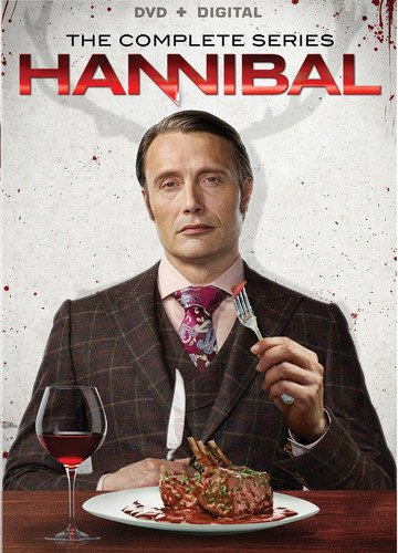 DVD : Hannibal: The Complete Series (Boxed Set, 5 Disc)