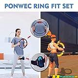 Ponwec Elastic Leg Fixing Strap and Ring-Con