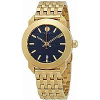 Tory Burch Whitney Blue Dial Gold-tone Women's Watch
