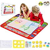 """TXY Aqua Mat Water Doodle Mat,Kids Drawing Mat Toddlers Painting Board Writing Mat in 4 Colors Learning Educational Toddler Toys Gift Size 31.5"""" x 23.62"""""""