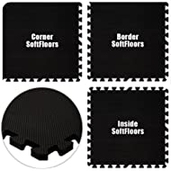Best Floor Pad SoftFloors Black Total