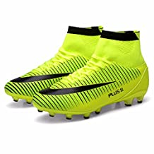 Men's High Ankle High Soccer Cleats Football Shoes