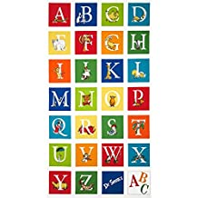 Dr. Seuss ABC 24'' Panel Adventure Fabric By The Yard by Robert Kaufman